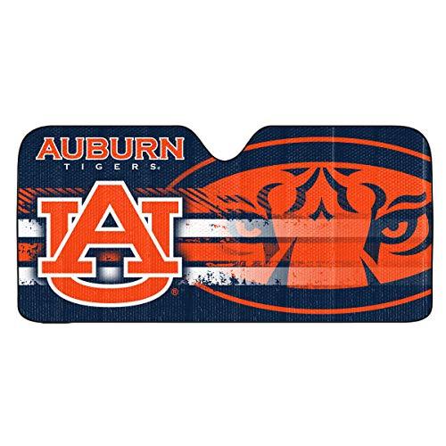 FANMATS ProMark NCAA Auburn Tigers Auto Sun ShadeAuto Sun Shade 59x27, Team Colors, One Size