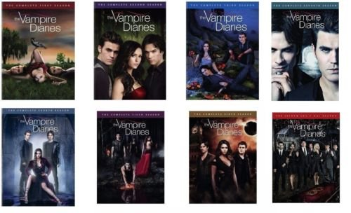 The Vampire Diaries Season 1-8 Bundle Complete Series