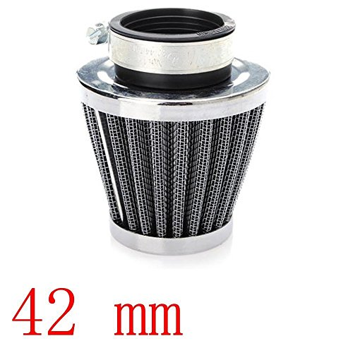 Mintice™ Filtre à Air Froid Reniflard Carter Turbo Ventilateur 42mm Mini Bleu pour Voiture Moto