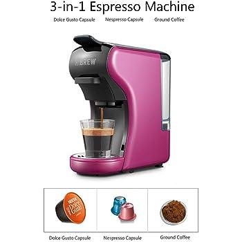 NO BRAND Cafetera Espresso multifunción 3 en 1; cafetera, cafetera Espresso, cafetera cápsula Dolce Gusto: Amazon.es: Hogar