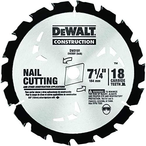 DEWALT DW3191 Series 20 7-1/4-Inch 18 Tooth Nail...