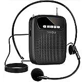 Amplificador de Voz Portatil 15 Vatios Altavoz con Microfono, Profesional...