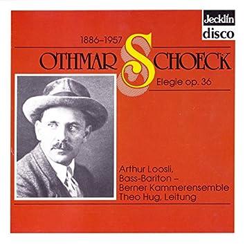 Othmar Schoeck: Elegie, Op. 36
