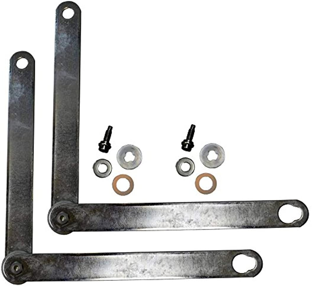 PT Auto Warehouse TC-NI003-P - Tailgate Cable Lift Support - Length 16 1/8 Inch, Left/Right Pair