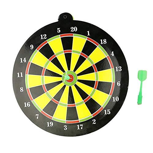 24,5 cm Kunststoff und Magnet Magnetic Dart Board Set Safety Dart Board, mit 2 Darts Familienspiele Sportspielzeug, geeignet für Kinder und Erwachsene Indoor oder Outdoor