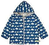 loud + proud Wasserabweisende Jacke, Gots Zertifiziert Chaqueta de transición, azulón, 74/80 cm Unisex bebé