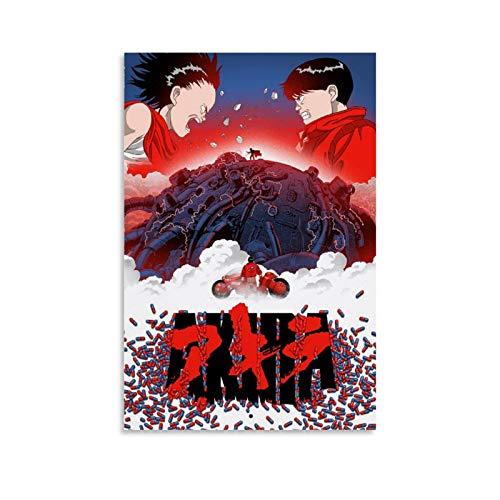 SHADIAO AKIRA Poster décoratif sur toile pour salon, chambre à coucher 30 x 45 cm
