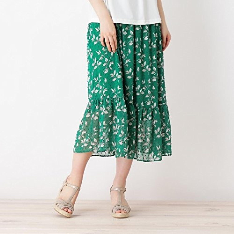 グローブ(grove) Lスカート(◆ドットジャカードプリントマキシスカート)