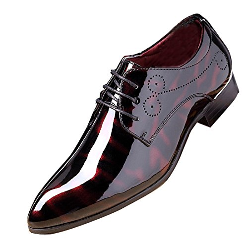 Details about  /Mens Pointy Toe Oxfords Floral Business Party Outdoor 44 Low Top Leather Shoes D