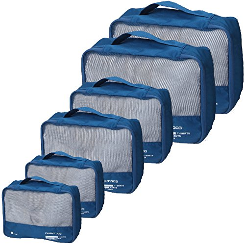 Best Packing Cubes Set Travel Luggage Organizers Suitcase Lightweight Accessories