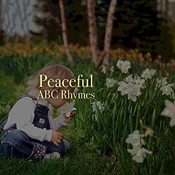 # Peaceful ABC Rhymes