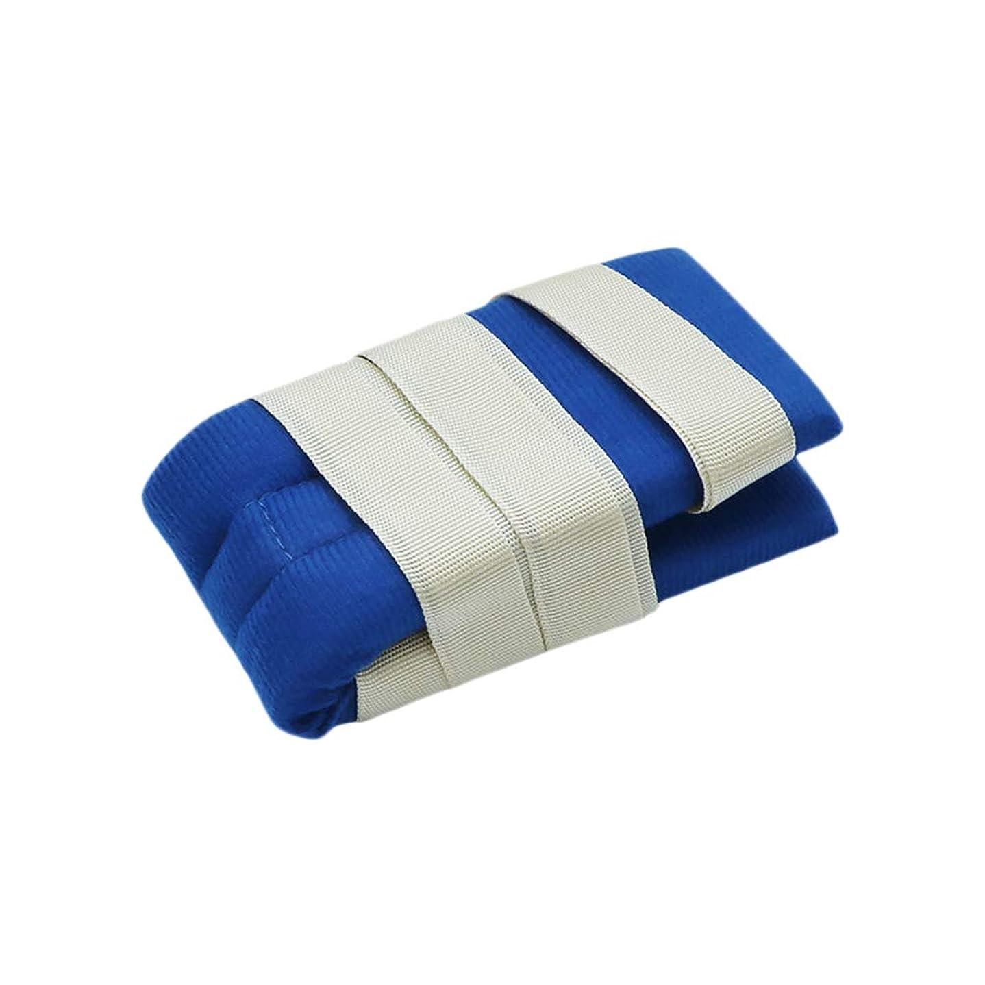 瞬時に尊敬一時停止手または足のための柔らかい医学の制限の革紐バンド病院用ベッドの肢のホールダー患者のための普遍的な抑制制御クイックリリースバンド