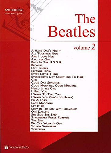 The Beatles Anthology, für Klavier und Gesang