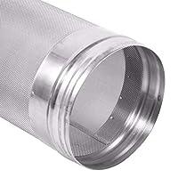1.Qualité supérieure - En acier inoxydable 304 de première qualité, robuste et durable, il présente une bonne résistance à la corrosion et à la chaleur, une résistance à la pression et une bonne résistance à l'usure. 2.Bonne performance de filtrage -...