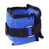 Knöchelriemen Fitness,Gewichte für Beine und Arme Fuß Gewichtsmanschetten Blau Verstellbar...