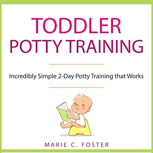 Toddler Potty Training audiobook cover art
