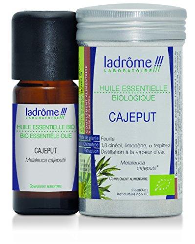 Ladrôme Huile Essentielle Cajeput (Melaleuca Cajeputii) Bio 10 ml
