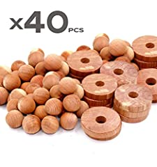 BUY 2 GET 10% OFF, BUY 3 GET 15% OFF, BUY 4 GET 20% OFF, BUY 5 GET 25% OFF. JUST ADD TO CART! MULTIPLE USES: Use these cedar balls and cedar rings in your closet, shoes, car and kitchen. Cedar blocks for clothes storage are not just for clothes stora...