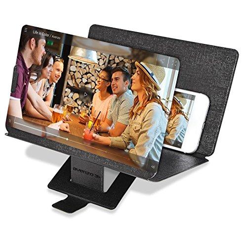 Avenzo Ampliador de Pantalla 3D 8.3, Negro