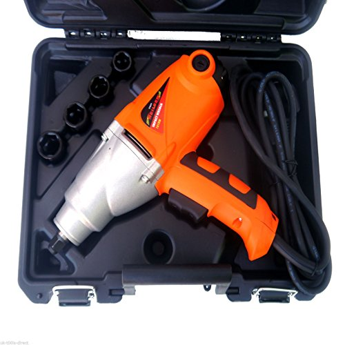5pc IMPACT GUN RATCHET WRENCH SET 1/2' Drive 1010W...