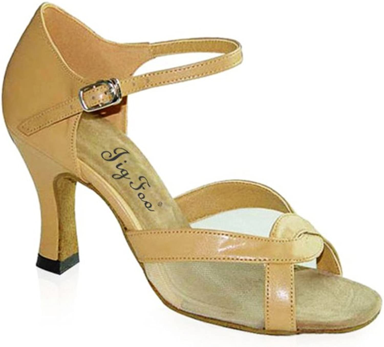 SPLNWTFHCNWPCB Latin Latin Latin Dance Schuhe für Erwachsene Modernen Social Dance schuhe Weichen Boden Schuhe  8659e4