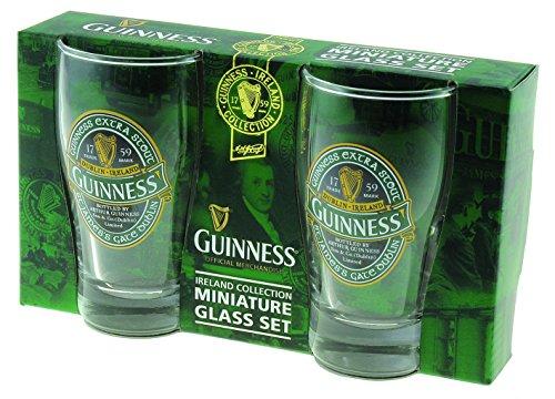 Guinness Ireland Minature Collection-Set di bicchieri, 2 pezzi