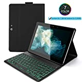 """Jelly Comb Backlit Keyboard Case for Surface Go 2018 10""""/"""