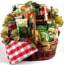 Viva Italiano - Deluxe Italian Gift Basket with Pastas, Linguini, Sauce, Oil, Bread Sticks and More, 16 Pounds