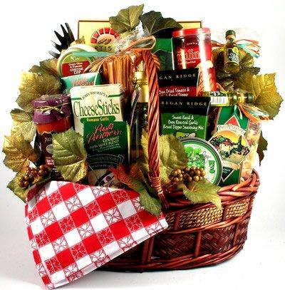 Viva Italiano - Deluxe Italian Gift Basket Filled With Gourmet Pastas,...