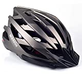 WONEIRA Bike Helmet, Bicycle Helmet with LED Light CPSC&CE Certified Adult Cycling Helmet for Men Women Adjustable Ultralight Stable Mountain & Road Biking Helmets bicycles for women May, 2021