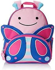 Skip Hop Zoo plecak dla małych dzieci z tabliczką na nazwisko