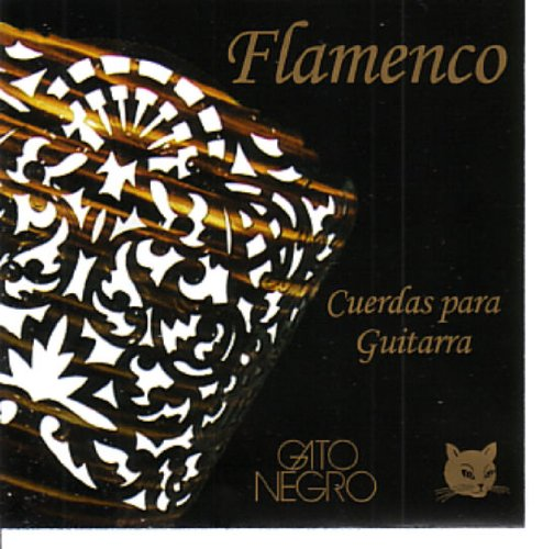 Juego de cuerdas Gato Negro Flamenca para guitarra clásica y concierto