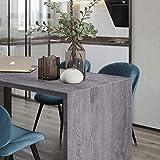 iKINLO Holzoptik Klebefolie selbstklebend Folie Holz Möbelfolie 5 * 0.61M PVC DIY Vintage Dekorfolie Küchenschrank Aufkleber für Möbel Schrank Tische Wand Tapete - 2
