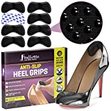 Anti-Slip Heel Pads, Heel Grips for Men and Women [Dotted Design with Strong Adhesive Backing] Heel Inserts for Shoes, Add Extra Volume and Comfort, Heel Pain Relief, Ergonomic Heel Cushion