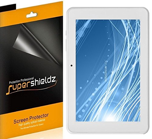 (3 Pack) Supershieldz for Insignia Flex 8 inch Android Tablet (NS-P16AT08) Screen Protector, High Definition Clear Shield (PET)
