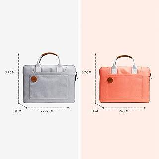 "Handbags Men's Twill Waterproof Nylon Retro Work Bag 14"" Laptop Waterproof Bag (2 Sizes)"