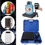 100kg Elektronisch Kältemittelwaage Digitale Gewichtsskala Gewichtskala A/C Refrigerant Scale für...