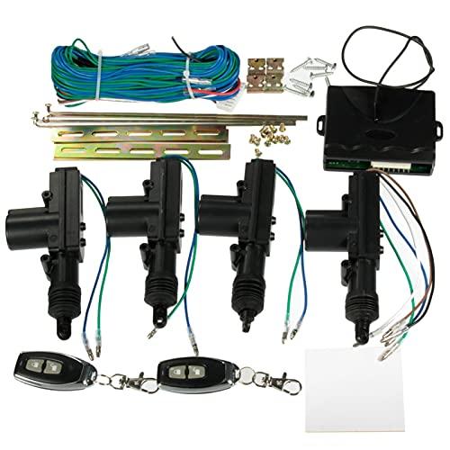 Kit universal de 2 puertas o 4 puertas Cardinal Lock Lock Lock sin llave + 2 llaves extraídas