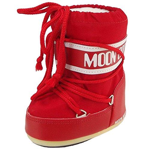 Tecnica MOON BOOT MINI NYLON NERO 140043 - Botas para niños