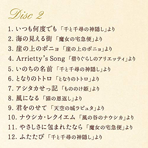 デラ『リラクシング・ピアノ~ベストジブリ・コレクション(DLPW-809_10)』