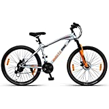 """This cycle is delivered in nearly assembled condition (85% assembled). You need to complete the job before use. Allen key and spanner are provided in box for installation. Height : 5'.6"""" To 6'.5"""", Frame : Carbon Hi-Tensile, Steel - TIG Welded Fork : ..."""