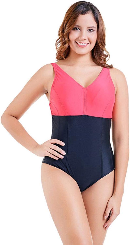 One Piece Swimsuit, Women Deep V Neck Halter Cross Back Monokini Swimwear Bathing Suit