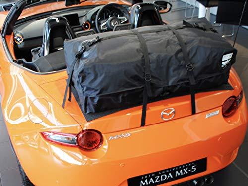 carLugagerack.co.uk Mazda MX5 MK4 ND 2016 Gepäckträger für Kofferraum, wasserdicht, für den Urlaub
