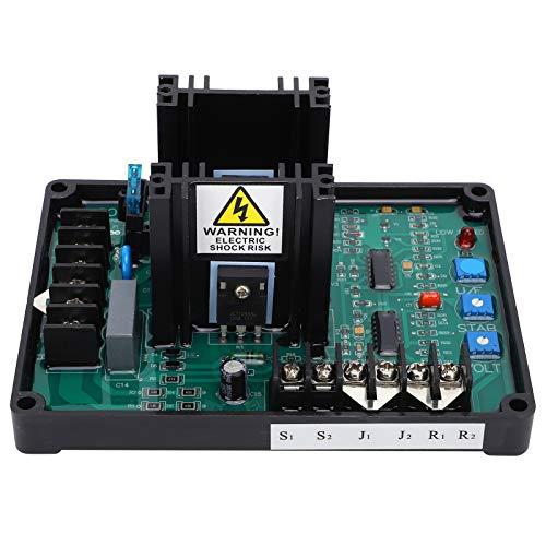 Jeanoko Módulo regulador de Voltaje automático de generador AVR GAVR-20A de plástico enchufable para trifásico