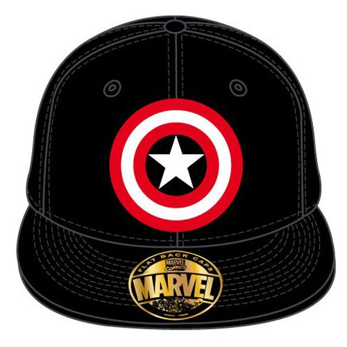 CODI - Captain America casquette baseball Logo noir