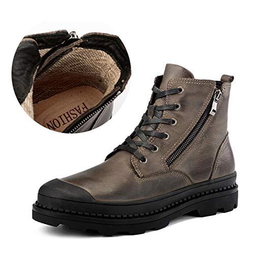 Xue herenlaarzen, lente winter, leder-Martin-stijl, comfort katoenen laarzen, hardloopschoenen, sportschoenen, outdoor-sneakers, casual wandelschoenen, gereedschapsschoenen