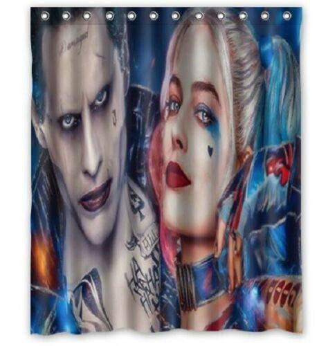 51XyFrXCwEL Harley Quinn Shower Curtains