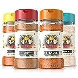 Flavor God Seasonings- Popcorn Pack | Pack of 4- 5oz | Healthy Seasonings | Great for Added Flavor |...