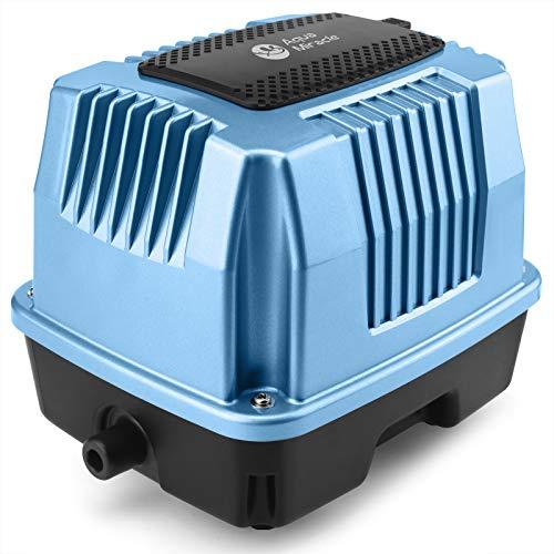 AquaMiracle Air Pump (AP40) Super Powerful Linear Air Pump 635GPH (40LPM/1.4CFM), 0.028MPa (4.06psi) for Pond, Hydroponics, Aquarium, Fish Farm, Septic Systems, Waste Treatment