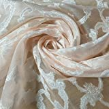 Textile Station Organza-Stoff, Polyester, Jacquard,